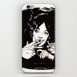 Chabrol: The Blue Panther iPhone Skin