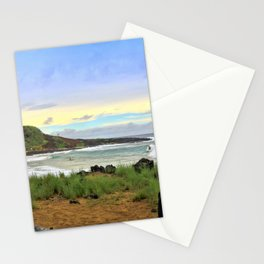 Little Beach Stationery Cards