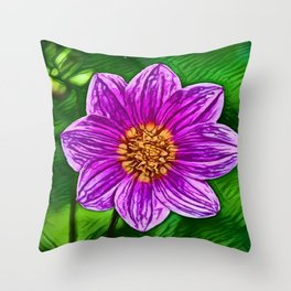 Garden Cosmos Dream | Painting Throw Pillow