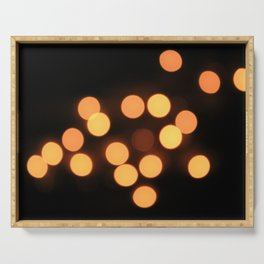 Blurred Lights Serving Tray