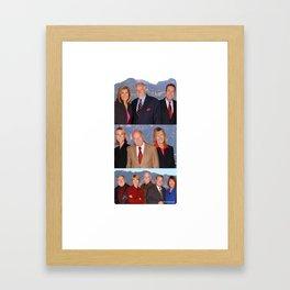 Eyewitness News Framed Art Print