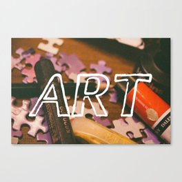 Art Life. Canvas Print
