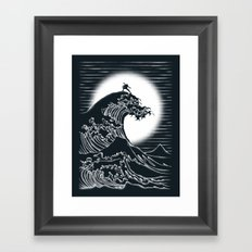 Waterbending Framed Art Print