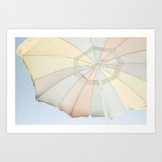 Sun Structure Art Print