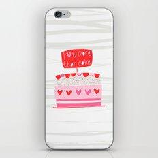 Love you more than cake iPhone Skin