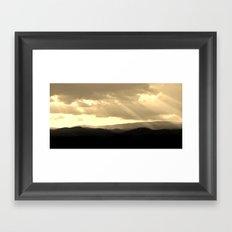 Terre bénie Framed Art Print