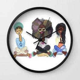Meditation Swag Girls No. 5 Wall Clock