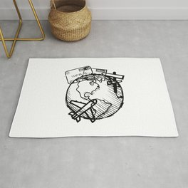 Explore, travel, live and love life Rug