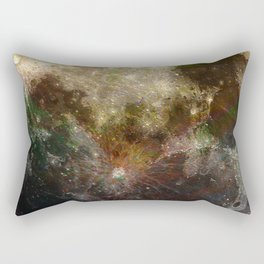 MOON under MAGIC SKY V Rectangular Pillow