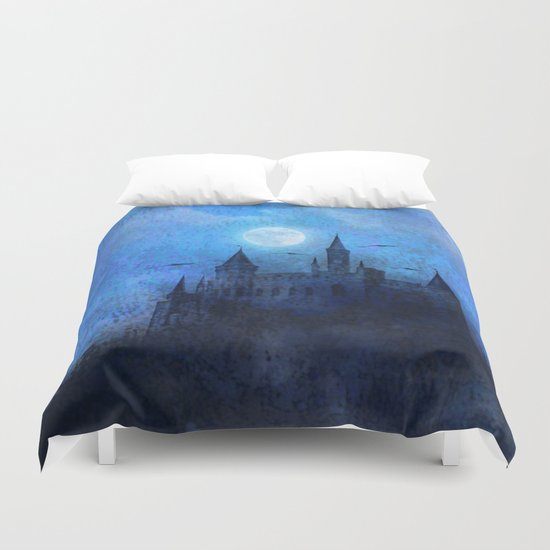 Mystical castle Duvet Cover