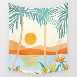 Bali Sunset Wall Tapestry