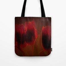 Rote Tulpen Tote Bag