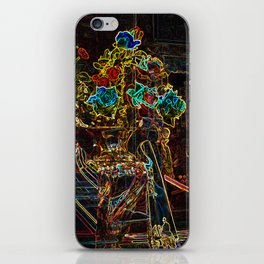 Abstract Roses of Vicenza, Italy iPhone Skin