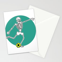 Calavera Soccer Stationery Cards