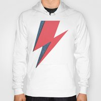 lightning Hoodies featuring Lightning by Stag Nacht