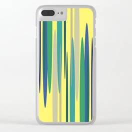 Peakwold (Yellow) Clear iPhone Case