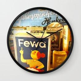 soapy Wall Clock