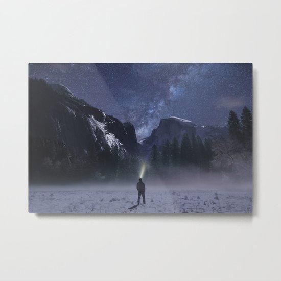 Star Gazer Midnight Metal Print