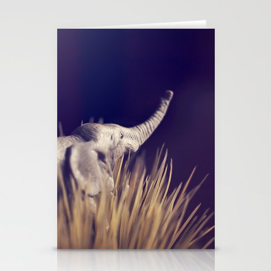 an uncertain future Stationery Cards