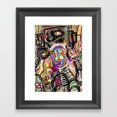 16 Framed Art Print
