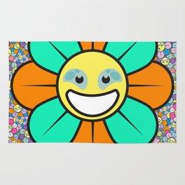 SUPER FLOWER POWER Rug