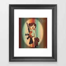 Children Nowadays Framed Art Print