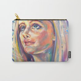 Saint Claire of Assisi, potrait Carry-All Pouch