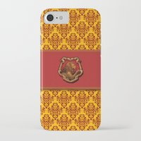 gryffindor iPhone & iPod Cases featuring Gryffindor House by Sarah and Bree