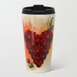 Blooming Heart Travel Mug