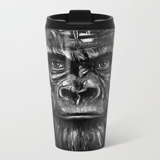 Silverback Metal Travel Mug