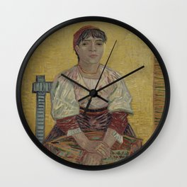 The Italian Woman Wall Clock