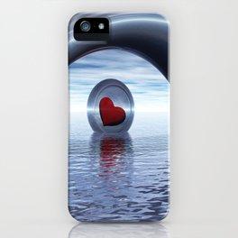 Herz auf Reisen iPhone Case