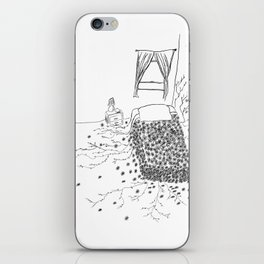 Flower Bed. iPhone Skin