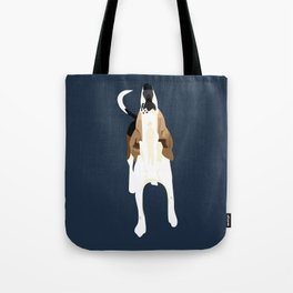 Copper Howl Tote Bag