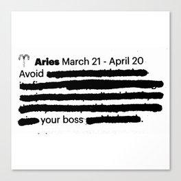 Aries 1 Canvas Print