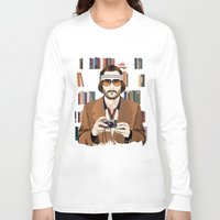 tenenbaum Long Sleeve T-shirts featuring Richie Tenenbaum by The Art Warriors