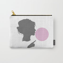 Woman bubble Carry-All Pouch