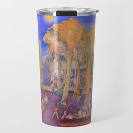 New College Palm Court Party Travel Mug
