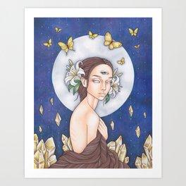 Lunar Awakening Art Print