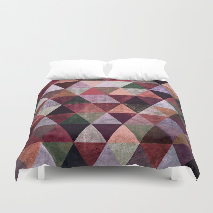 Abstract #380 Duvet Cover