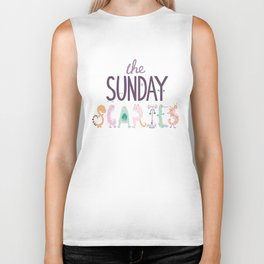 The Sunday Scaries Biker Tank
