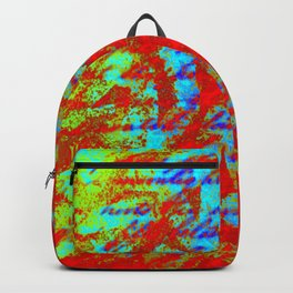 Design Delirium Red Backpack