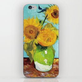 Vincent van Gogh - Three Sunflowers iPhone Skin