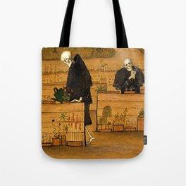 Hugo Simberg - The Garden of Death Tote Bag