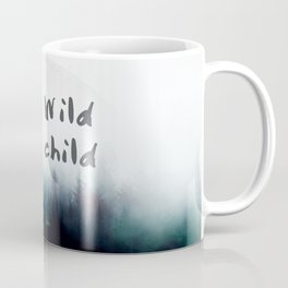 Stay wild moon child watercolor Coffee Mug