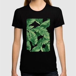 Tropical banana leaves IV T-Shirt