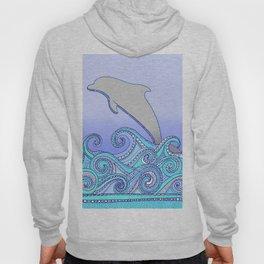 Jumping Dolphin Hoody