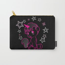 Unico in Black Carry-All Pouch