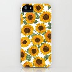 SUNNY DAYS -sunflowers- iPhone (5, 5s) Slim Case