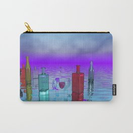 glass bottles Carry-All Pouch